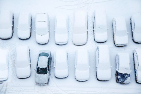 Snow Pushers Chicago — Examples (Snow Removal — Parking Lots)
