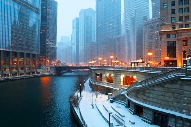 Snow Pushers Chicago — Examples (Snow Removal — City Streets)
